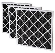 carbon filter for odor removal