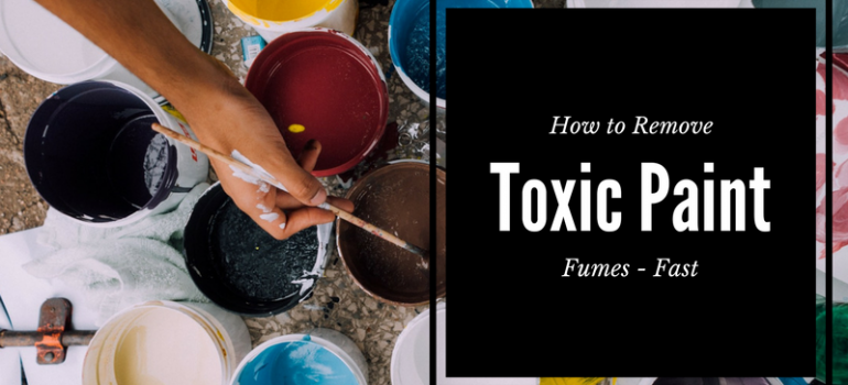 How to Remove Toxic Paint Fumes - Fast