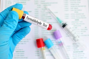 Formaldehyde test