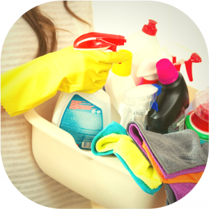 #3. Commercial Cleaning Products