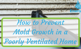 How to Prevent Mold Growth in a Poorly Ventilated Home
