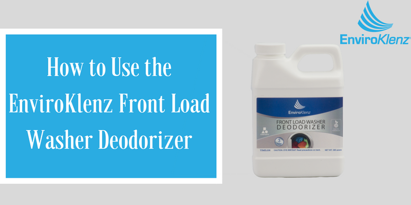 How To Use The Enviroklenz Front Load Washer Deodorizer