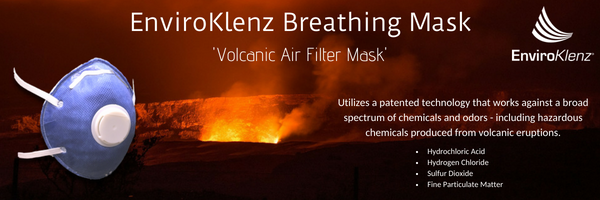 Air Filter Mask for SO2 Gas & Particulate Matter