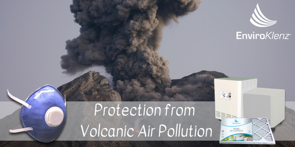 Protection from Volcanic Air Pollution