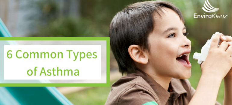 6 Common Types of Asthma