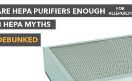 HEPA air purifier for allergies