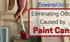 Eliminating Odors Caused by Paint Cans