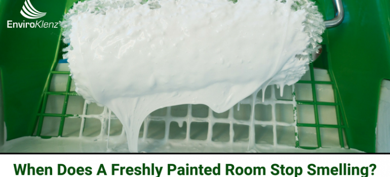 When Does A Freshly Painted Room Stop Smelling