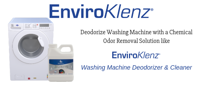 Deodorize Washing Machine with a Chemical Odor Removal Solution