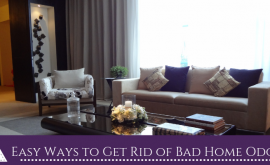 Easy Ways to Get Rid of Bad Home Odors