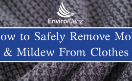 How to Safely Remove Mold & Mildew From Clothes