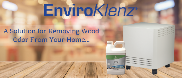A Solution for Removing Wood Odor From Your Home