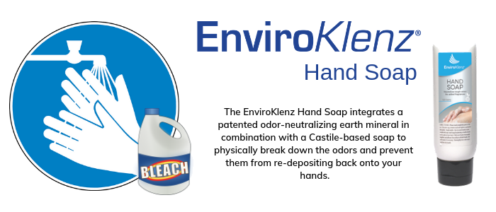 Eliminate Bleach Smell From Hands
