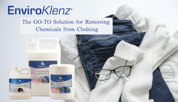 Removing Chemicals from Clothing