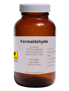 What is Formaldehyde Found in